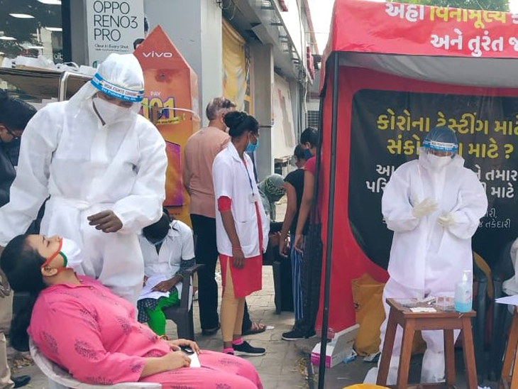 કોરોના બેકાબૂ, સતત ચોથા દિવસે 1550થી વધુ કેસ, 16 દર્દીના મોત થયા, કુલ કેસ 2 લાખ 8 હજારથી વધુ અમદાવાદ,Ahmedabad - Divya Bhaskar