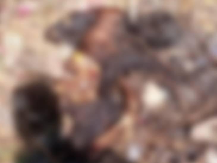 મૃતક દિકરીના મૃતદેહને પિતાએ પેટ્રોલ છાંટીને સળગાવી દીધો