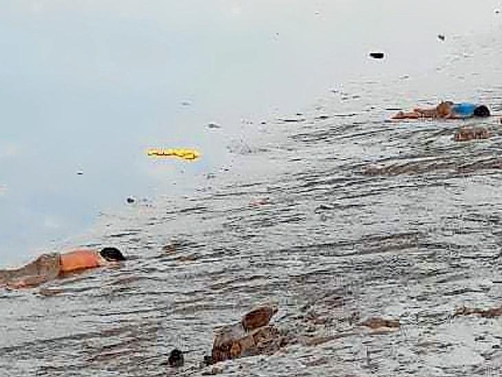 4 વર્ષના બાળકની નજર સામે જ 3 ભૂલકા નદીમાં ડૂબ્યા: ભાઈ-બહેનનાં મોત,1 લાપતા સુરત,Surat - Divya Bhaskar