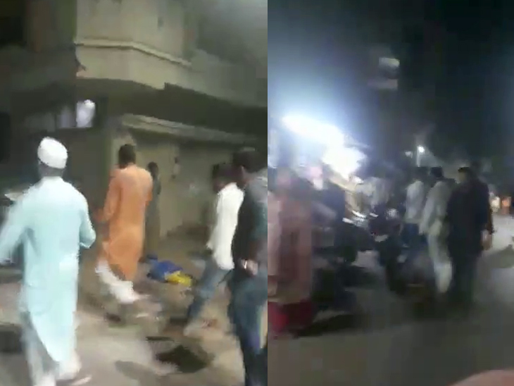 અમદાવાદના કોટ વિસ્તારમાં રાત્રિ કર્ફ્યૂ માત્ર કાગળ પર, એક જ વખત પોલીસ પેટ્રોલિંગ કરીને જતી રહે છે, પછી સવાર સુધી કોઈ ફરકતું નથી|અમદાવાદ,Ahmedabad - Divya Bhaskar