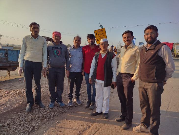 મોરબી જિલ્લાના ખેડૂતો દિલ્હી ખેડૂત આંદોલનમાં જોડાયા