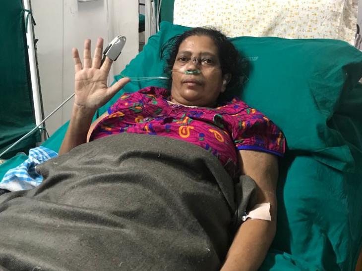 સુરતની સ્મીમેર હોસ્પિટલમાં કોમોર્બિડ બિમારી ધરાવતા ભરૂચના 51 વર્ષના મહિલા 97 દિવસ બાદ કોરોનામુક્ત થયા,51 દિવસ આઈ.સી.યુ.માં રહ્યાં હતા|સુરત,Surat - Divya Bhaskar