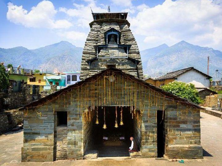 ગોપેશ્વર મહાદેવ મંદિરમાં રહેલું ત્રિશૂળ ખાસ છે, નાની આંગળીથી તેનો સ્પર્શ કરવાથી ત્રિશૂળમાં ધ્રુજારી થાય છે|ધર્મ,Dharm - Divya Bhaskar