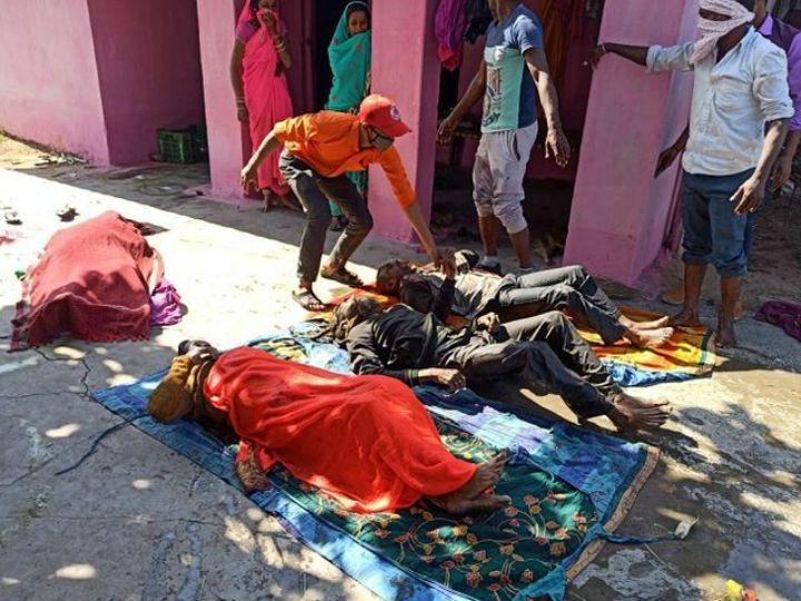 પતિ-પત્ની અને પુત્ર-પુત્રવધૂના મૃતદેહ મળ્યા; 11 વર્ષના બાળક પર પણ હુમલો, આઘાતમાંથી બહાર આવ્યા બાદ નિવેદન આપશે|ઈન્ડિયા,National - Divya Bhaskar