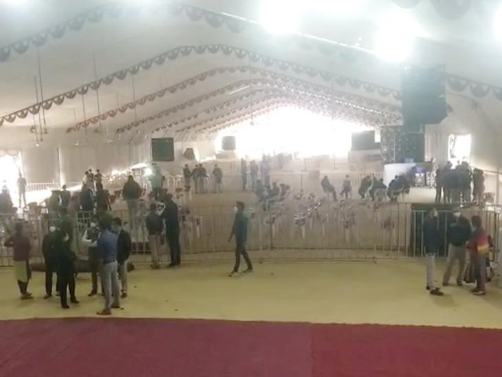 PM મોદી આજે રાજકોટ એઇમ્સનો વર્ચ્યુઅલ શિલાન્યાસ કરશે, લગ્નમાં 200 વ્યક્તિને મંજૂરી, પણ ખાતમુહૂર્તમાં 500 લોકો બેસી શકે એવો ડોમ તૈયાર કરાયો|રાજકોટ,Rajkot - Divya Bhaskar