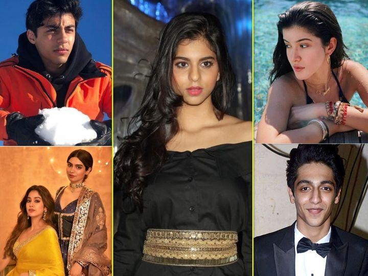 શાહરુખ ખાનની દીકરી સુહાનાથી લઈ બિગ બીના દોહિત્ર અગસ્ત્ય નંદા સુધી, આ સ્ટાર્સ 2021માં બોલિવૂડ ડેબ્યૂ કરી શકે છે|બોલિવૂડ,Bollywood - Divya Bhaskar