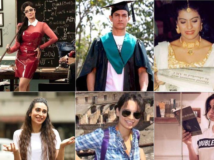 કરિશ્મા કપૂર, કંગના રનૌતથી લઈને આમિર ખાન સુધી, કોઈએ 6 ધોરણ સુધી અભ્યાસ કર્યો તો કોઈએ સ્કૂલિંગ અધવચ્ચે છોડ્યું|બોલિવૂડ,Bollywood - Divya Bhaskar