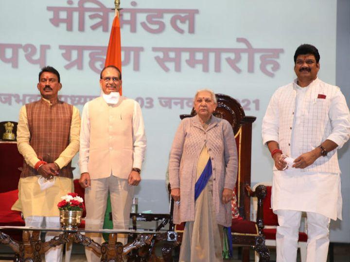 સિંધિયા સમર્થક સિલાવટ અને ગોવિંદ રાજપૂતને મંત્રી બનાવાયા, કેબિનેટમાં હજી પણ 4 પદ ખાલી|ઈન્ડિયા,National - Divya Bhaskar