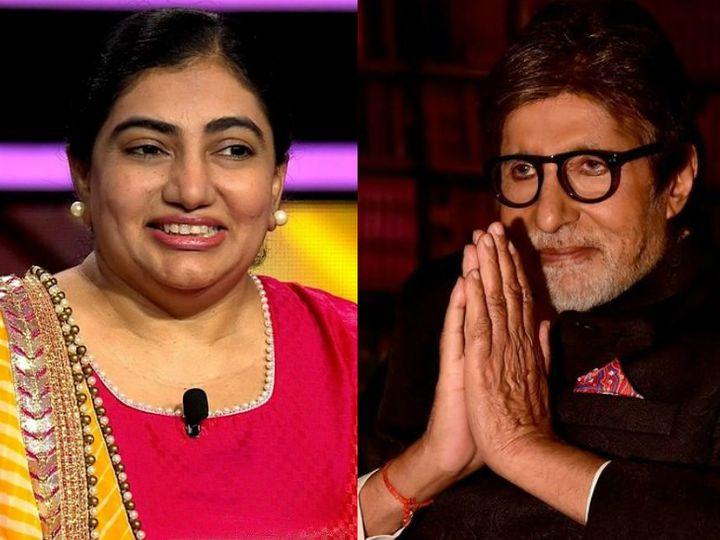 નેહા શાહ સીઝનની ચોથી કરોડપતિ બની, શોમાં અમિતાભ બચ્ચન સાથે ફ્લર્ટ કરતી દેખાશે|ટીવી,TV - Divya Bhaskar