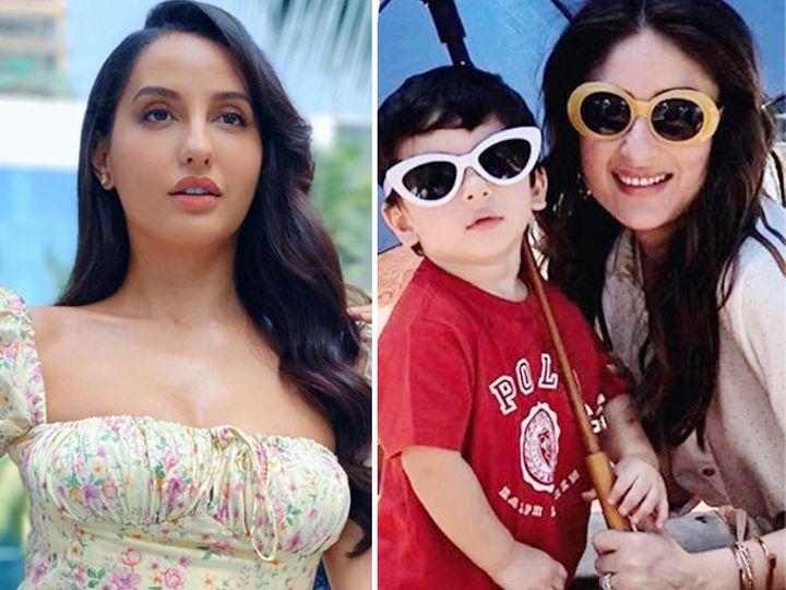28 વર્ષની નોરા ફતેહીને 4 વર્ષના તૈમુર અલી ખાનને પરણવું છે, કહ્યું, 'મને રાહ જોવામાં વાંધો નથી' બોલિવૂડ,Bollywood - Divya Bhaskar