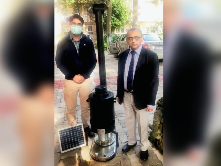 લદાખના બર્ફીલા પહાડો પર હિમતાપક જવાનોને ઠંડીથી બચાવશે; સોલર સ્નો મેલ્ટરથી પીવાનું પાણી પણ મળશે|ઈન્ડિયા,National - Divya Bhaskar