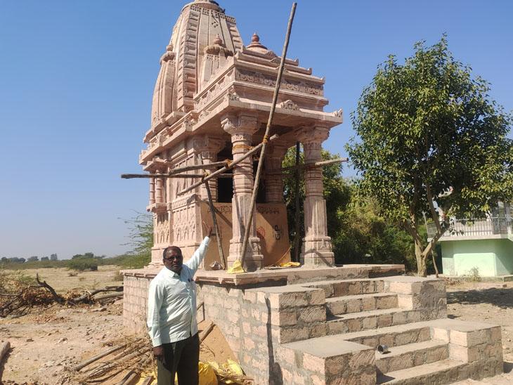માનપરમાં11 લાખના ખર્ચે પહેલું શિવમંદિર બનાવાશે|મુળી,Muli - Divya Bhaskar
