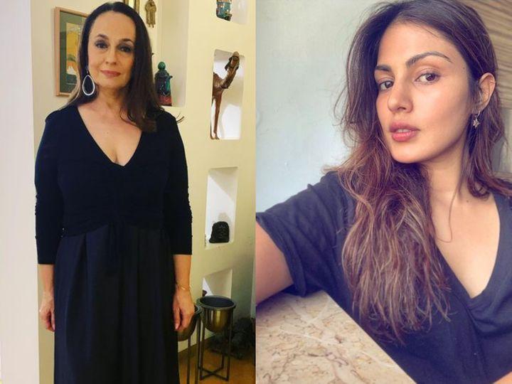 રિયા ચક્રવર્તીના સપોર્ટમાં આવી મહેશ ભટ્ટની પત્ની સોની રાઝદાન, કહ્યું- કોઈ તેની સાથે કામ કેમ નહીં કરે તે ઇનોસન્ટ છે|બોલિવૂડ,Bollywood - Divya Bhaskar