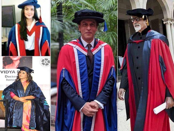 અમિતાભ બચ્ચન, શાહરુખ ખાનથી લઈને પરિણીતી ચોપરા સુધી, આ છે બોલિવૂડના સૌથી એજ્યુકેટેડ સેલેબ્સ|બોલિવૂડ,Bollywood - Divya Bhaskar