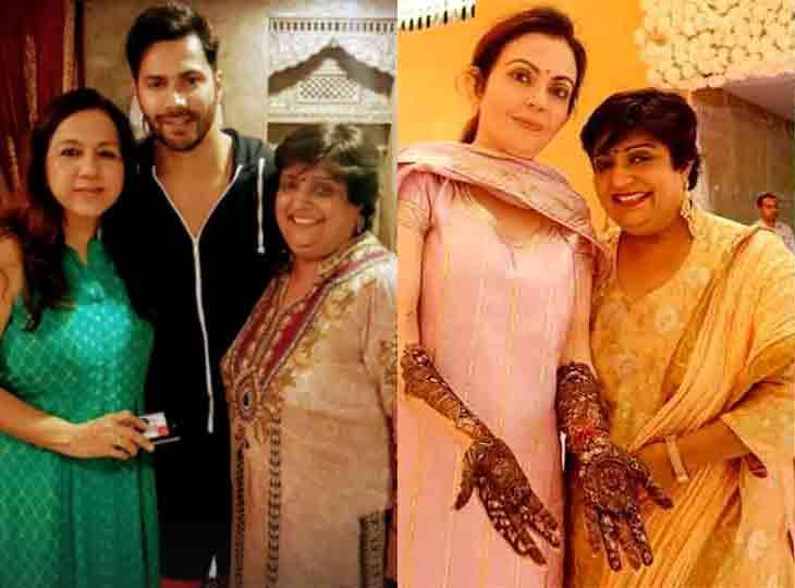 ધવન પરિવારનાં લગ્ન હોય કે પછી અંબાણી-કપૂરનાં હોય, દુલ્હનના હાથમાં તો મહેંદી ગુજરાતી વીણા નાગડાની જ હોય|બોલિવૂડ,Bollywood - Divya Bhaskar