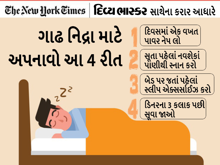 સ્ટડીમાં દાવો- ઓછી ઊંઘની સરખામણીએ પૂરતી ઊંઘ લેનારા લોકોમાં હાર્ટની સમસ્યા 15થી 42% ઓછી|યુટિલિટી,Utility - Divya Bhaskar