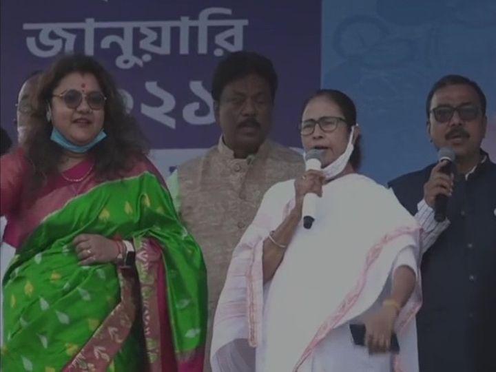 મમતા બેનર્જીએ કહ્યું- ભાજપનું કામ માત્ર તાંડવ કરવાનું; નારો આપ્યો- હરે કૃષ્ણ હરે રામ, વિદાય થાય BJP-વામ|ઈન્ડિયા,National - Divya Bhaskar