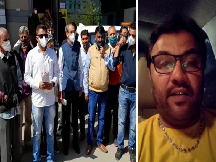 રાજકોટમાં ચારણ સમાજે કલેક્ટરને આદેવનપત્ર આપી યોગ્ય તપાસ કરી જવાબદારો સામે કાર્યવાહી કરવા માગ કરી, લોકગાયક કિર્તીદાન ગઢવીએ ઘટનાને વખોડી|રાજકોટ,Rajkot - Divya Bhaskar