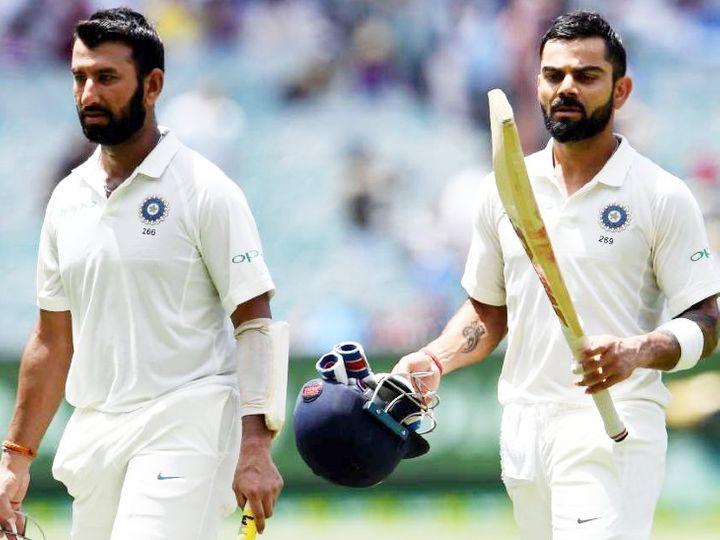 કોહલી ચોથા ક્રમે, બાબરને પાછળ છોડીને પૂજારા છઠ્ઠા ક્રમે પહોંચ્યો; ટોપ-10 બોલર્સમાં બે ભારતીય|ક્રિકેટ,Cricket - Divya Bhaskar
