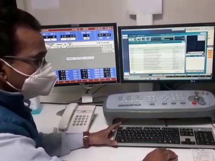 રાજકોટની કેન્સરની હોસ્પિટલમાં આધુનિક મશીનોની સગવડ.