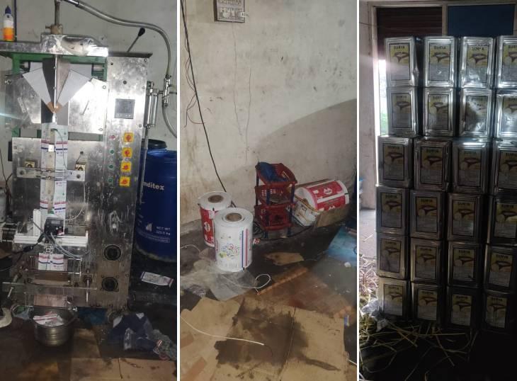 ચાંગોદરની ફેક્ટરીમાં નકલી ઘી બનાવવાનું કૌભાંડ, 500 ગ્રામ ઘી માત્ર રૂ. 55માં વેચતા, એકની ધરપકડ અમદાવાદ,Ahmedabad - Divya Bhaskar
