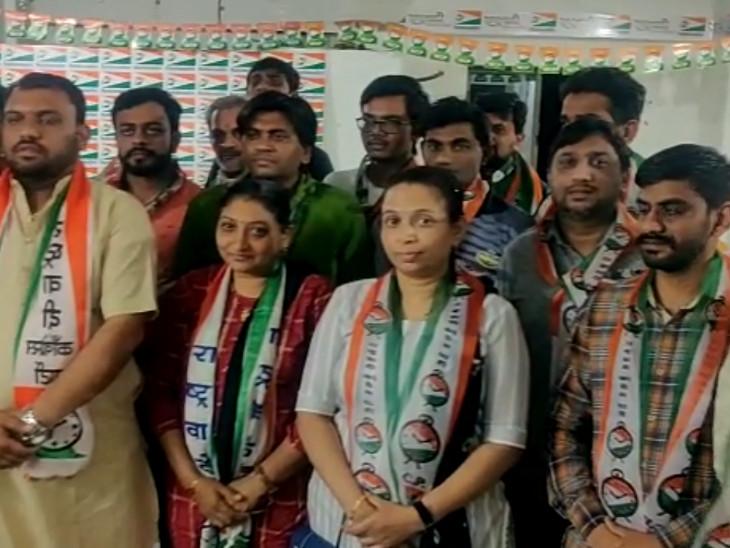 સુરતમાં આમ આદમી પાર્ટીમાં ગાબડું પડ્યું, મોટા વરાછામાંથી 400 જેટલા કાર્યકરો NCPમાં જોડાયા|સુરત,Surat - Divya Bhaskar