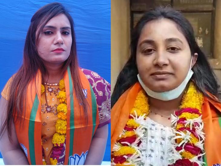 રાજકોટ મનપાના ચૂંટણી જંગમાં ભાજપના બે ગ્લેમરસ ચહેરાની એન્ટ્રી, બન્ને મહિલા ઉમેદવાર ડોક્ટર, એકની 26 તો બીજીની ઉંમર 29 વર્ષ|રાજકોટ,Rajkot - Divya Bhaskar