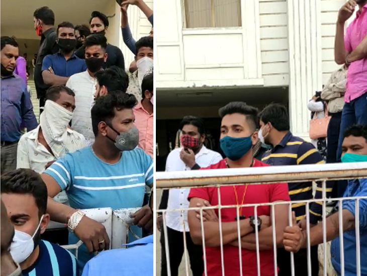 कांग्रेस के पालड़ी को राजीव गांधी भवन में बाउंसर लगाने के लिए मजबूर किया गया है