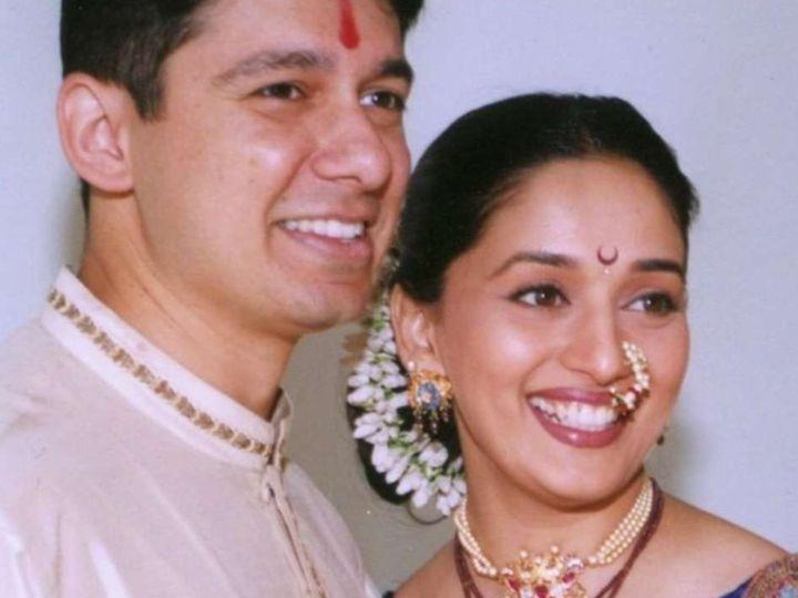 ડૉક્ટર શ્રીરામ નેનેની સાદગી પર માધુરી દીક્ષિત ફિદા થઈ હતી, લૉન્ગ ડિસ્ટન્સ રિલેશનશિપમાં રહ્યાં બાદ લગ્ન કર્યાં હતાં|બોલિવૂડ,Bollywood - Divya Bhaskar