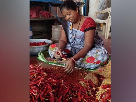 Gondalia and Kashmiri chillies have gone up by Rs 100 to Rs 150 per kg this year over last year.