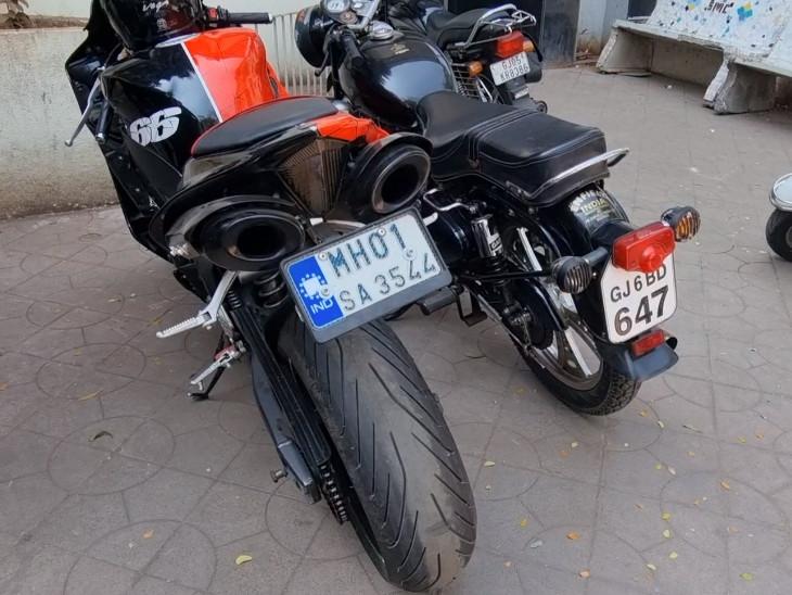 સુરતમાં ઓવર સ્પીડથી વાહન ચલાવતા ચાલકોને પકડવા માટે છ પોઇન્ટ ગોઠવાયા, 6 બાઈક અને 2 કાર કબજે સુરત,Surat - Divya Bhaskar
