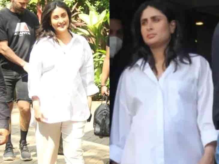ડિલિવરીના બે દિવસ પહેલાં કરીના કપૂર શૂટિંગ કરતી જોવા મળી, 15 ફેબ્રુઆરીએ બીજા બાળકને જન્મ આપશે બોલિવૂડ,Bollywood - Divya Bhaskar