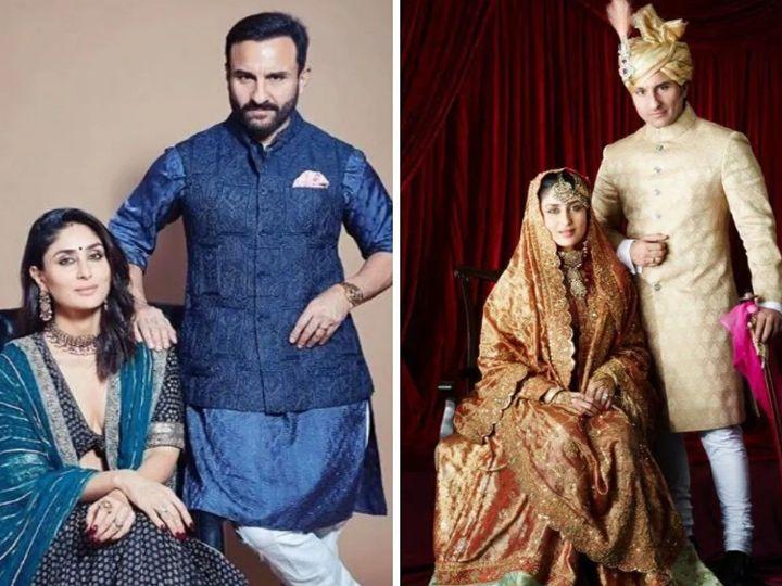 'ઓમકારા'ના સેટ પર થયેલી ઓળખાણ 'ટશન'ના શૂટિંગ દરમ્યાન પ્રેમમાં પરિણમી અને 10 વર્ષ મોટા સૈફની થઇ ગઈ કરીના બોલિવૂડ,Bollywood - Divya Bhaskar