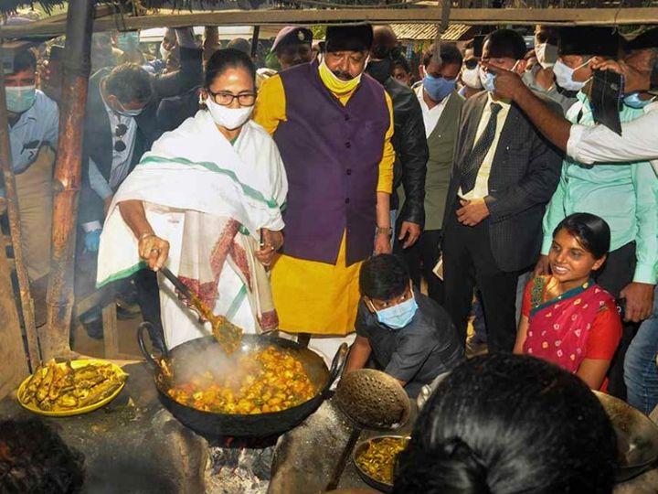 પાંચ રૂપિયામાં ગરીબોને દાળ-ચોખા, શાક અને ઈંડા આપશે મમતા; કોલકાતામાં શરૂ થઈ માતાની રસોઈ|ઈન્ડિયા,National - Divya Bhaskar