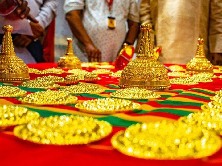 વસંત પંચમીએ જગન્નાથ પુરી મંદિરને 4 કિલો 858 ગ્રામ સોના-ચાંદીના ઘરેણાં દાનમાં મળ્યાં, રથયાત્રાની તૈયારીઓ પણ શરૂ થઇ|ધર્મ,Dharm - Divya Bhaskar