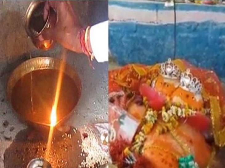 ઘી કે તેલથી નહીં; માતાજીના આ અનોખા મંદિરમાં નદીના પાણી દ્વારા દીવો પ્રગટાવવામાં આવે છે|ધર્મ,Dharm - Divya Bhaskar
