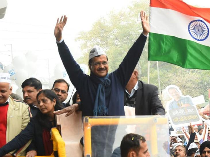 સુરતમાં AAPનો ઉદય, જીતનું જશ્ન મનાવવા 26મીએ અરવિંદ કેજરીવાલ આવશે, રોડ શો-સભા કરશે સુરત,Surat - Divya Bhaskar