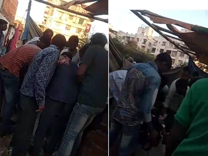 અમદાવાદમાં ન્યુ રાણીપ વિસ્તારમાં જાહેરમાં દેશી દારૂ વેચાતો હોવાનો વીડિયો વાઇરલ થયો, દારુ લેવા લોકોના ટોળા ઉમટ્યા|અમદાવાદ,Ahmedabad - Divya Bhaskar
