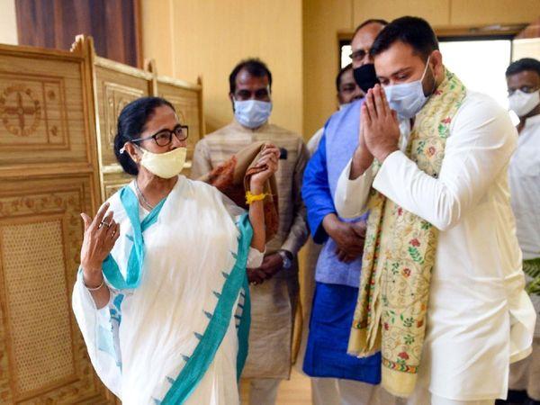 તેજસ્વી યાદવે બંગાળમાં રહેતા બિહારીઓને મમતાને વોટ આપવાનું કહ્યું, ચૂંટણી લડવાને લઈને મૌન સાધ્યું|ઈન્ડિયા,National - Divya Bhaskar