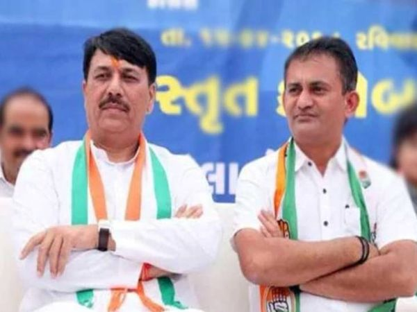 કોંગ્રેસના પ્રદેશ પ્રમુખ અમિત ચાવડા અને વિપક્ષના નેતા પરેશ ધાનાણીએ રાજીનામું આપ્યું, હાઈકમાન્ડે સ્વીકારી લીધુ, નવા પ્રમુખ માટે NSUIના નેતાઓ એક્ટિવ થયા|અમદાવાદ,Ahmedabad - Divya Bhaskar