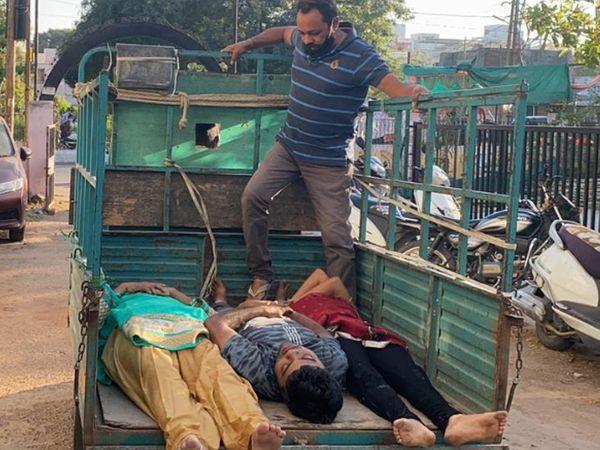 પોલીસે મોડી રાતે ભાવિન સોનીનું નિવેદન લીધું, કહ્યું - 9 જેટલા જ્યોતિષીઓએ વિધિ કરવાના નામે 32 લાખ પડાવ્યા, તેથી આપઘાત કર્યો|વડોદરા,Vadodara - Divya Bhaskar