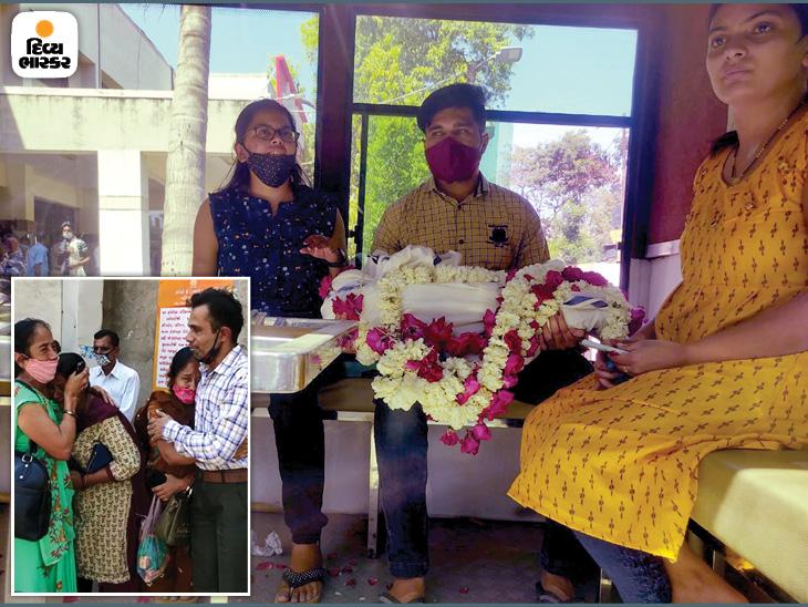 સોની પરિવારના 3 સભ્યની અંતિમયાત્રા નીકળી, 4 વર્ષના બાળકનો મૃતદેહ જોઈ નાના-નાની, મામા-માસીનું આક્રંદ, કહ્યું:'અમારા ફૂલ જેવા બાળકનો શું વાંક હતો' વડોદરા,Vadodara - Divya Bhaskar