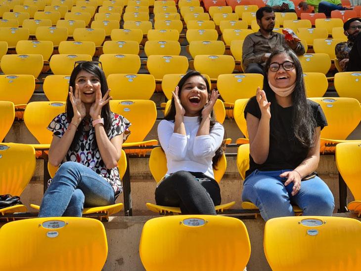 ભારતીય દર્શકોએ પણ ટીમને ઉત્સાહભેર ટીમને ચિયર કર્યું - Divya Bhaskar
