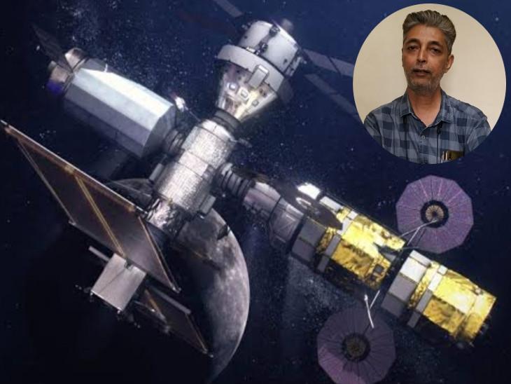 સુરતના વૈજ્ઞાનિકની સિદ્ધિ, ચંદ્રના સાઉથ પોલ પર જતા અવકાશયાત્રીઓના ઓરિયન નામના સ્પેસશિપની ડિઝાઈન તૈયાર કરી|સુરત,Surat - Divya Bhaskar