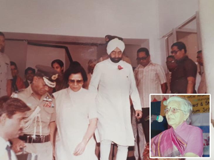 86 વર્ષના કુમુદબેન કેન્દ્રિય મંત્રી રહીં ચૂક્યાં છે - Divya Bhaskar