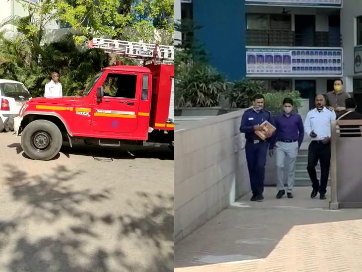 રાજકોટની સ્કૂલોમાં ફાયર સેફ્ટીના સાધનોનું ચેકિંગ,42 ખાનગી શાળાઓમાં ફાયર NOC અને ફાયર સેફટીના સાધનો અંગેની ચકાસણી કરવામાં આવી|રાજકોટ,Rajkot - Divya Bhaskar