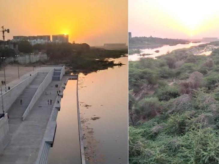 આ પ્રોજેક્ટ આંબેડકરબ્રિજથી ઇન્દિરાબ્રિજ સુધી સાબરમતી નદીને સમાંતર બનશે.