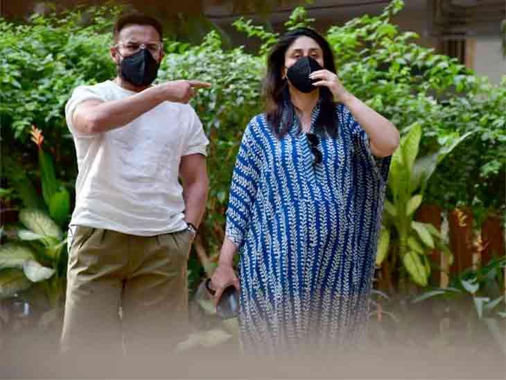 ડિલિવરી બાદ પહેલી જ વાર કરીના કપૂર પતિ સૈફ અલી ખાન સાથે જોવા મળી, 2.94 કરોડની નવી SUVની ટેસ્ટ ડ્રાઈવ લીધી|બોલિવૂડ,Bollywood - Divya Bhaskar
