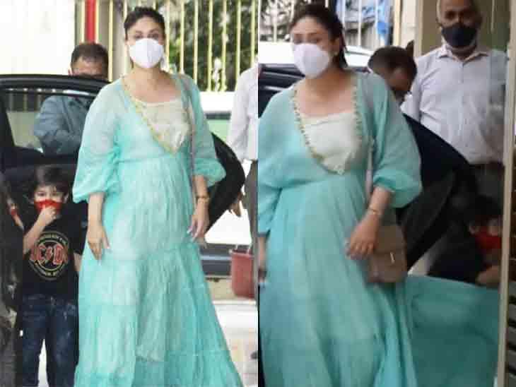 કરીના માતા તથા દીકરા સાથે બહેનના ઘરે આવી, ફોટોગ્રાફર્સને જોઈ ગુસ્સામાં આવેલો તૈમુર દરવાજા સાથે અથડાયો|બોલિવૂડ,Bollywood - Divya Bhaskar