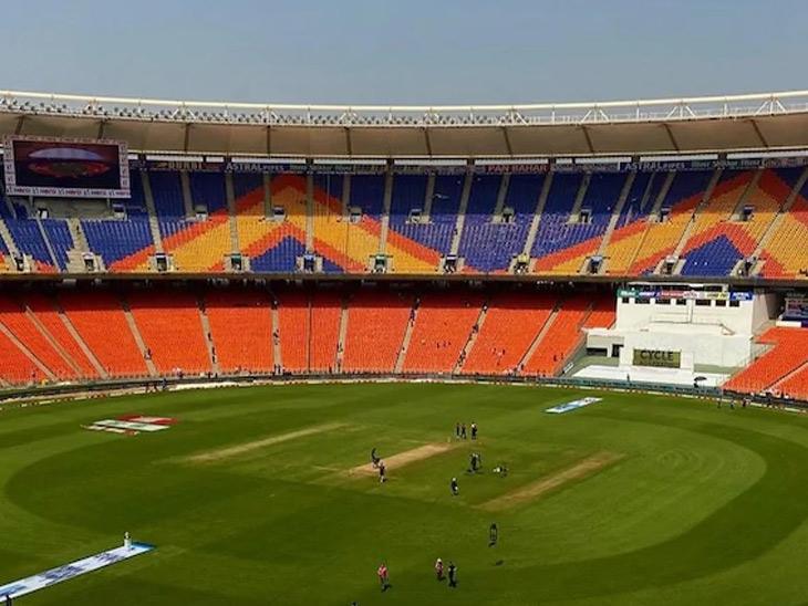કોરોના કહેર વચ્ચે મોદી સ્ટેડિયમમાં આજથી T-20; પહેલી મેચ માટે 70 હજાર ટિકિટ વેચાઈ|અમદાવાદ,Ahmedabad - Divya Bhaskar